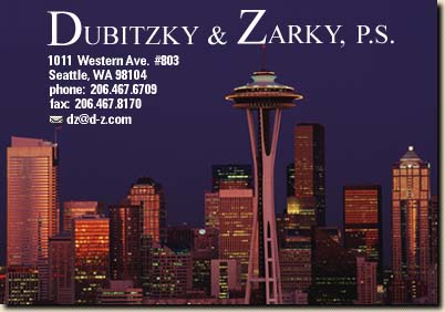 Dubitzky & Zarky, P.S. | Attorneys at Law, Seattle Washington